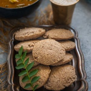These nutritious ragi idli or finger millet idli are super delicious and a great way to include superfood finger millet in your diet. Here is how to make these.