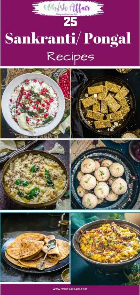 Here is a collection of Sankranti recipes which you can enjoy for this festival of joy. So read on and include these in your celebrations. #Indian #Festivals #Sankranti