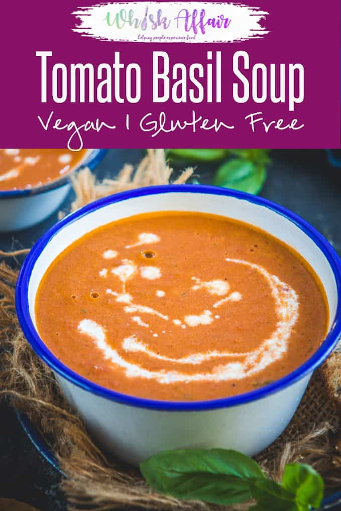 A satiating variation of your classic tomato brew, Tomato Basil Soup Recipe is indeed the best comfort food! Additionally, it is very easy to make this fresh Creamy Tomato Basil Soup from scratch and it's vegan as well. So, here is how to make Basil Tomato Soup at home. #Tomato #Basil #Soup #Healthy #Vegan #Whole30 #Paleo #Vegetarian #Winter