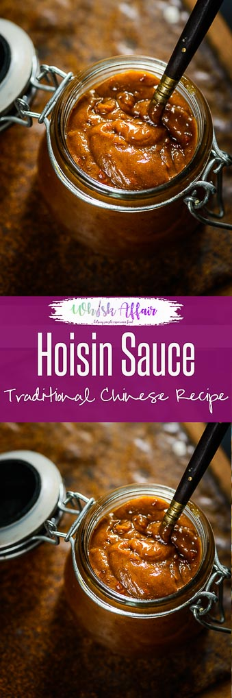 Hoisin sauce is a Chinese sauce that is thick and pungent and is often used as a glaze. This makes a sauce that is definitely better than the store bought one and is just a whisk away. Homemade I easy I simple I best I quick I 5 minutes I traditional I authentic I #Hoisin #Sauce #Chinese