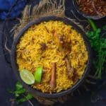 Hyderabadi Chicken Biryani boasts of a beautiful cacophony of flavours that is known the world over.