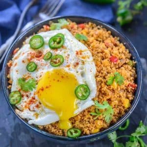 Mexican Couscous is a one bowl dinner that is super easy and quick to make. It's healthy, vegan and comes together in no time. Here is how to make Mexican Couscous