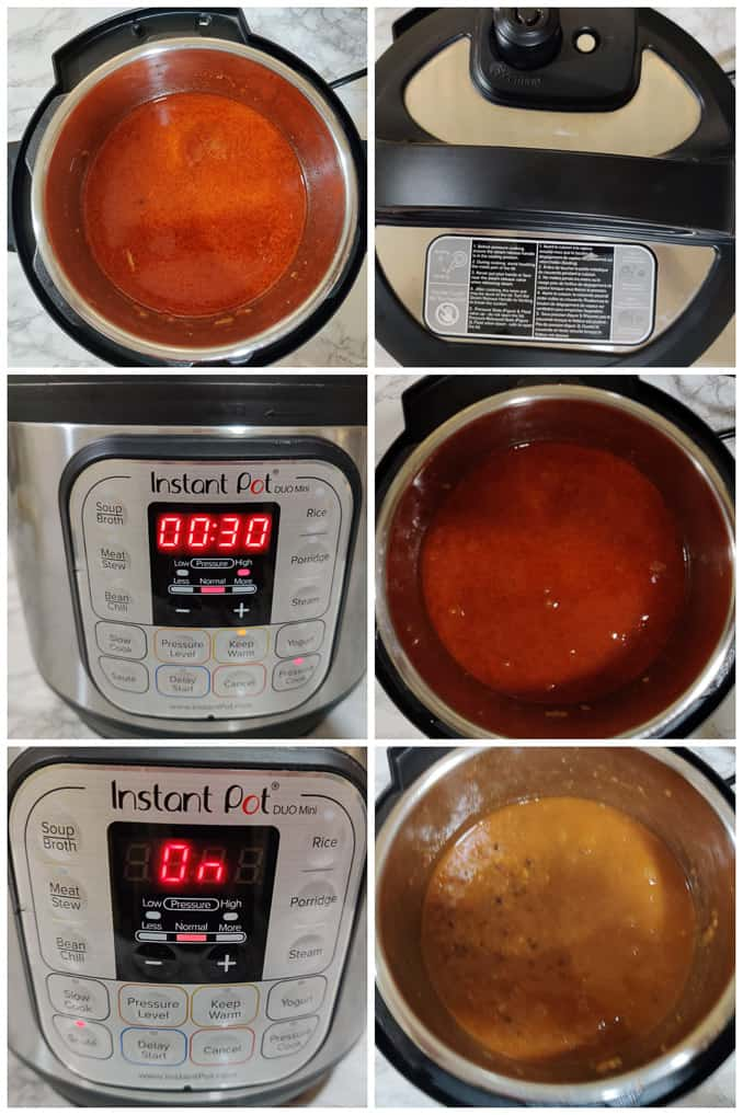 Instant Pot Dal Makhani Recipe Steps