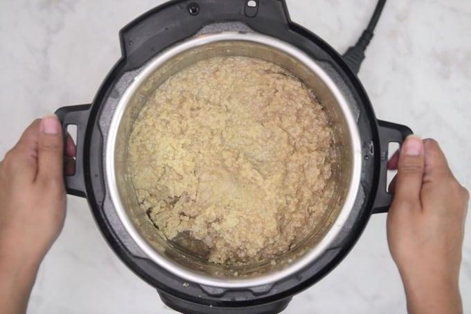 Mixed oats.