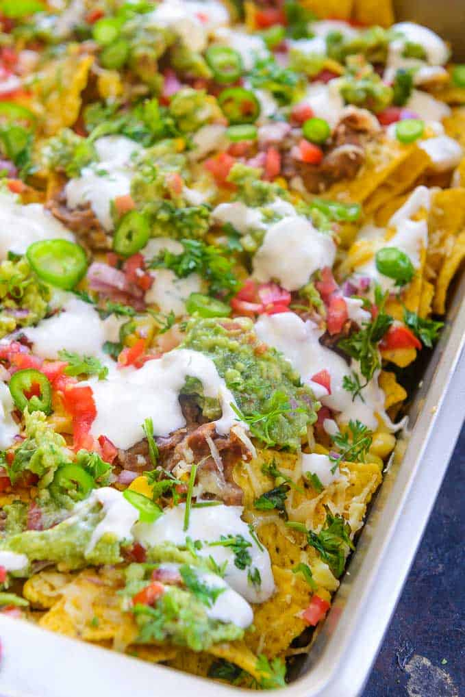 How to make Loaded Nachos Recipe.