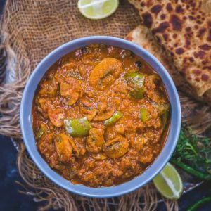 Make Restaurant Style Mushroom Masala Curry at home using the basic ingredients. This Indian Curry will definitely win your heart.