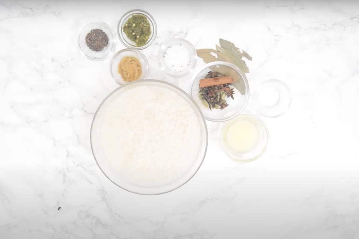 Rice Ingredients for Mutton Biryani
