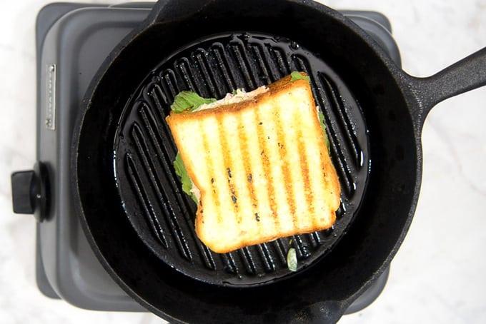 Curd Sandwich grilled.