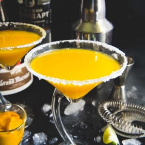 Summer is officially the season of Mangoes. So, keep your guard down and get ready to get high on this light, sunny Mango Martini. Mind you, it has a shot of fresh ripe mango juice, vodka and lime juice. Go ahead then and bring out the martini shaker and make it soon, fellas? Here is how to make it.
