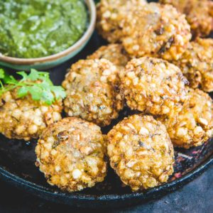 Sabudana Vada often known as Sabudana Vadai, Sabudana Cutlet or Sabudana Tikki is a deep-fried Maharashtrian appetizer that makes for a very good evening snack or breakfast. Since it is made using gluten-free ingredients, it is perfect to serve for Indian Fast Days or Vrat. Here is how to make these at home.