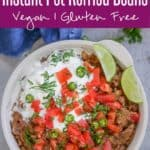 Make these Mexican Style, spicy Instant Pot Refried Beans at home. This recipe requires no soaking, no draining the extra liquid and is super delicious. #Mexican #SideDish #Beans