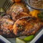 Try this easy baked Jamaican Jerk Chicken made from scratch and I am sure you will fall in love with this Caribbean traditional dish. Here is how to make Jerk Chicken Recipe.