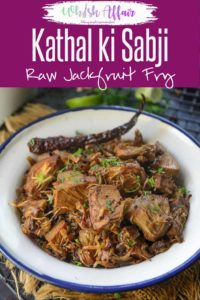 Kathal Khada Masala is a simple yet very flavorful recipe made using whole spices and raw Jackfruit. Here is how to make Kathal Khada Masala. #Jackfruit #Recipes #Indian #Kathal #Sabji