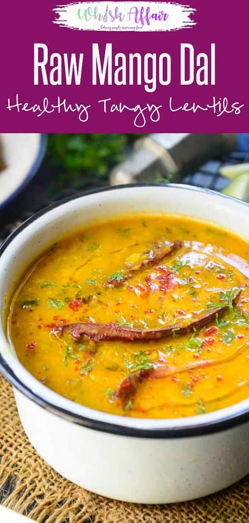 Raw Mango Dal Recipe is dish of lentils cooked with raw mango. The tangyness of raw mangoes gives a delicious flavor to the lentils. Indian I Dhal I daal I Recipe I food I Photography I Styling I Easy I simple I best I quick I Perfect I Traditional i mango I recipe I