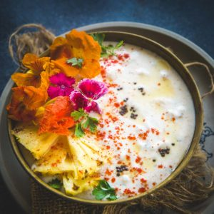 Make this easy restaurant-style Pineapple Raita at home using my simple recipe and see yourself falling in love with the dish all over again. Here is how to make it.
