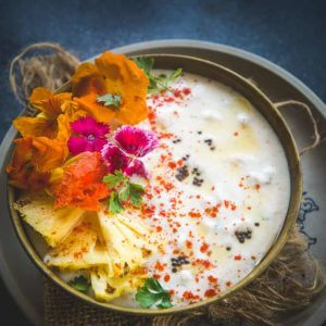 Make this easy Restaurant Style Pineapple Raita at home using my simple recipe and see yourself falling in love with the dish all over again. Here is how to make Pineapple Raita Recipe.