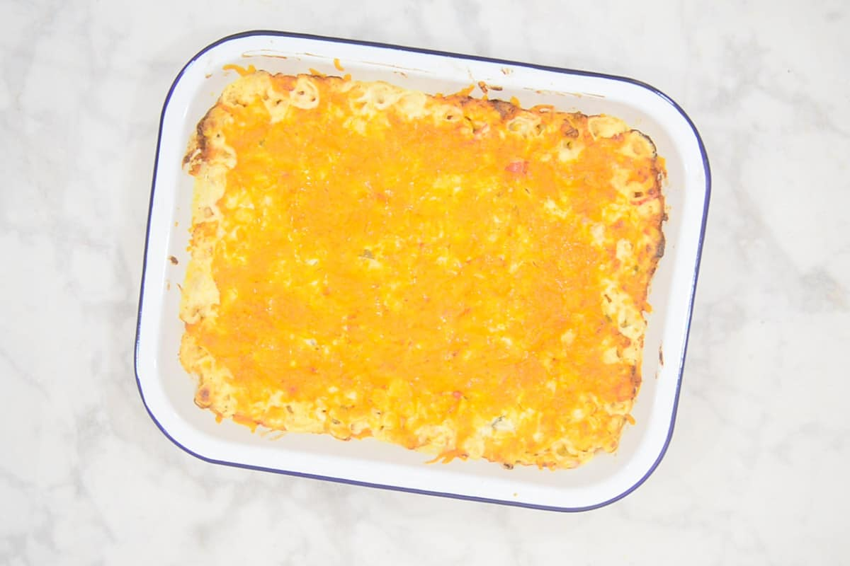 Ready creamed corn casserole.