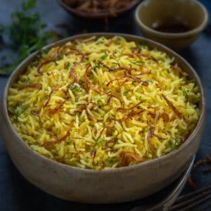 Saffron Rice Recipe Step By Step Video Whiskaffair