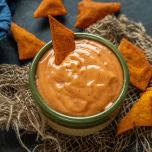Boom Boom Sauce is a magic sauce that takes your snacks to another level. Make this 5-minute recipe and serve with burgers, french fries, nachos, fried seafood, grilled veggies, or meat or drizzle it on your salads.