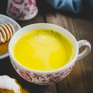 This 5-minute Golden Turmeric Milk or Haldi Doodh is the best drink to keep away from illness and get a feel-good feeling. Sip this Ayurvedic spiced milk warm or cold to get the many benefits of Turmeric in a delicious drink.