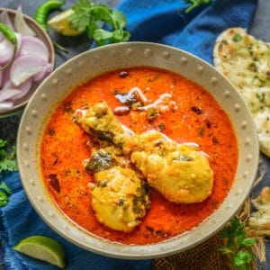 This Creamy Coconut Curry Chicken is an Indian curry dish made using chicken pieces, coconut milk, and spices. Do try this Indian chicken curry recipe with Naan or Steamed Rice for a delectable meal. Here is how to make it.