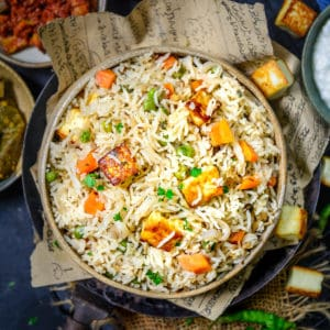 Paneer Pulao is a healthy and delicious rice dish that can be made under 30 minutes and makes for a great lunch box option. Here is how to make it.