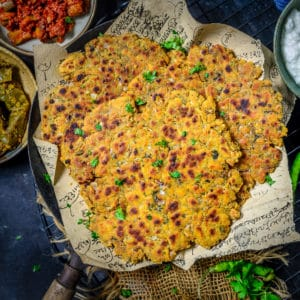 A popular dish from Sindhi Cuisine, Sindhi Koki is a flatbread with a fabulous taste and interesting texture. It is a breakfast dish made using wheat flour, besan, spices, and herbs. Here is how to make it.