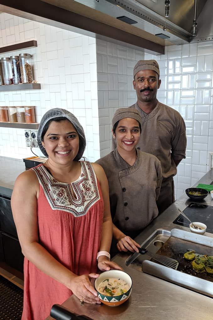 Cooking experience at grand hyatt kochi