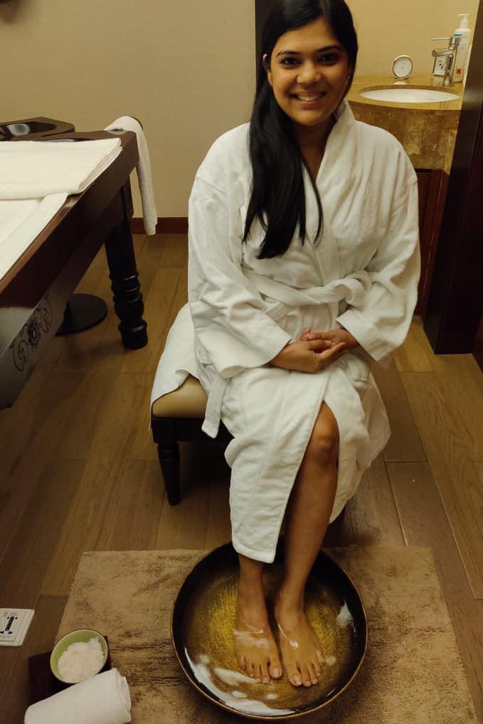 Ayurvedic massage at grand hyatt kochi