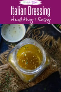 Italian Dressing is a healthy Salad Dressing which is very easy to make and tastes amazing. You can make it using very few ingredients and it keeps well for a long time. Here is how to make easy homemade Italian Dressing Recipe. #ItalianDressing #HealthySaladDressing #SaladDressingRecipes #HealthySalads