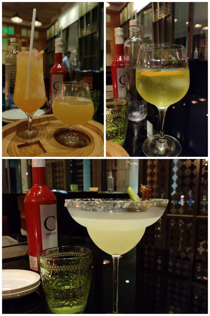Cocktails at Colony Clubhouse and Grill at Grand Hyatt Kochi