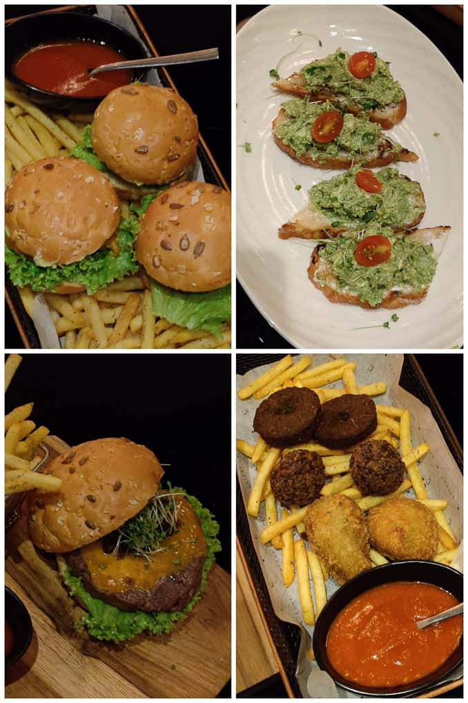 Food at Colony Clubhouse grand hyatt Kochi