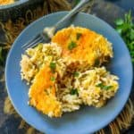 This Broccoli Rice Casserole is a one pan Southern dish that you can make for dinner side. This recipe is easy to make and is made from scratch. Here is how to make Broccoli and Rice Casserole Recipe.