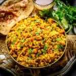 Egg Bhurji also known as Anda Bhurji is a spicy and a flavourful scrambled eggs recipe which is quite famous in the streets of Northern and Western India. It is easy to make, healthy and tastes delicious. My recipe uses a special masala which makes this dish stand apart. Here is how to make Egg Bhurji Recipe.