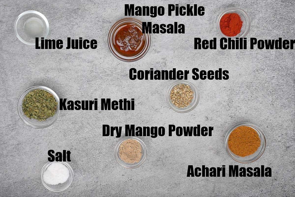 Achari bhindi ingredients 2