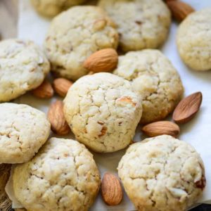 Buttery, crunchy, chewy, all at the same time, these Almond Cookies are the perfect bake for Christmas. Check out the easy recipe and make these at home. Here is how to make Almond Cookies Recipe.