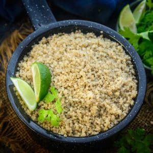 Instant Pot Quinoa is one of the best ways to cook quinoa to a perfect texture. The process is easy, quick, and hand free. Here is how to make quinoa in Instant pot.