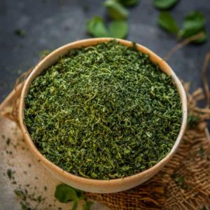Dried fenugreek leaves or Kasuri Methi is an important herb in Indian cooking. Learn how to dry fenugreek leaves and make kasuri methi at home in this post.
