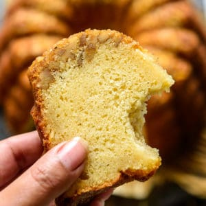 Bacardi Rum Cake is a deliciously moist cake drenched with rum. Make this tender cake with great crumbs from scratch for a family get together, Christmas or holidays. Here is how to make this cake.