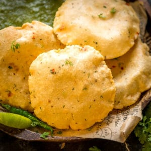 Aloo Puri is a delicious Indian bread that is made by mixing boiled potatoes with flour and spices. This Punjabi deep-fried poori is great to serve for breakfast or snacks. Here is how to make it.