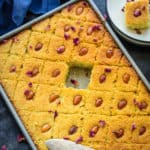 Basbousa or Basboosa is a Middle eastern Dessert which is basically sweet semolina cake. It is also called revani or namoura in some parts. Here is how to make it at home.