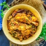 Chicken Masala is a delicious Indian Chicken curry, where marinated chicken is cooked in a spicy tomato onion gravy. Here is how to make Chicken Masala Recipe.