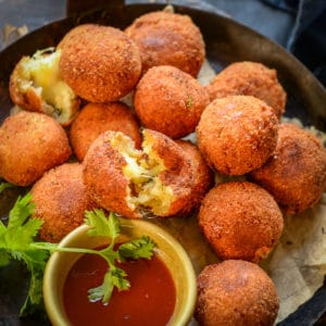 These Potato Cheese Balls are an easy to make appetizer which is crunchy from outside and gooey and cheesy from inside. Here is how to make these.