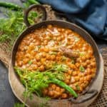 Kala Chana is black Chana which is a very good source of vegetarian protein. It can be cooked in a variety of forms like chaat, curries or ghugni. Here is how to make Kala Chana Curry Recipe.