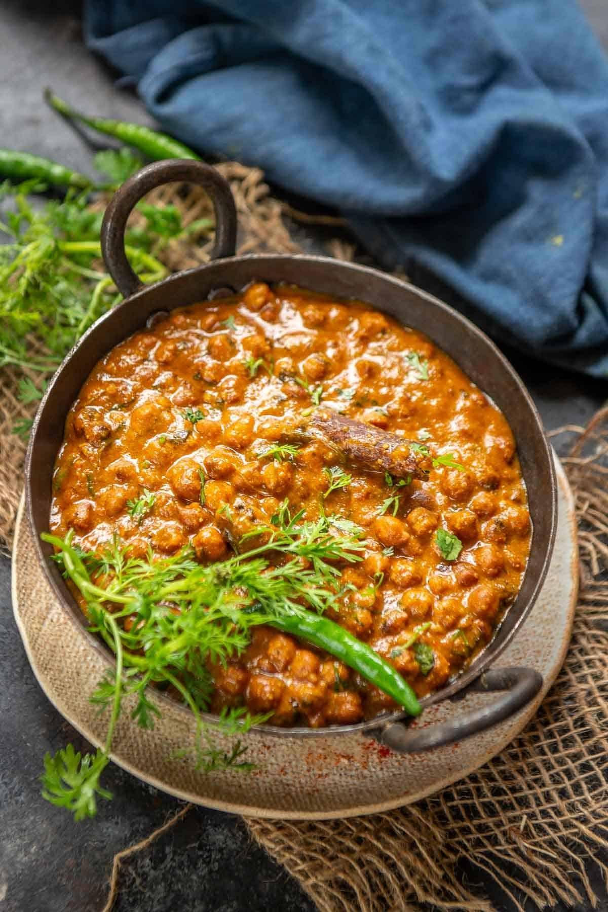 Kala Chana Curry Recipe Step By Step Video Whiskaffair