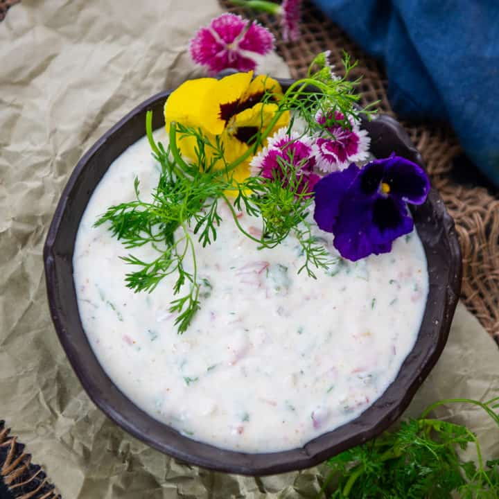 Make the best Indian raita at home in under 5 minutes. Check out lots of variations in this post.