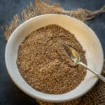 Za'atar is a Middle Eastern spice mix that is very versatile in its use. Rub it over veggies, chicken, beef, or fish, it takes the taste of any dish to another level. Here is how to make it at home.