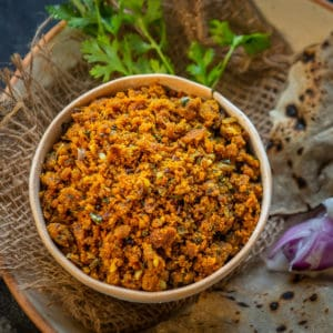 Zunka or Jhunka is a traditional Maharashtrian dish made using chickpea flour. It is served with Bhakhri for a hearty meal. Here is how to make it.