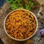 Zunka or Jhunka is a traditional Maharashtrian dish made using chickpea flour. It is served with bhakhri for a hearty meal. Here is how to make Zunka Recipe.