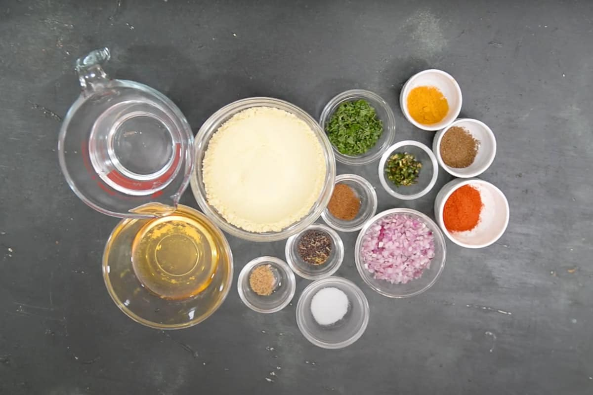 Zunka Ingredients.